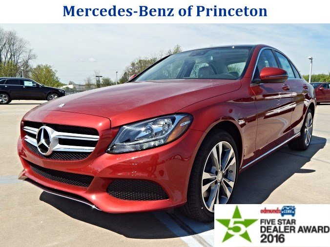 New 2016 mercedes benz c class c300 4matic 4dr car in for Mercedes benz princeton