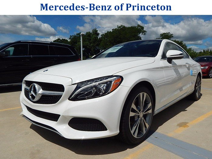 New 2017 mercedes benz c class c300 4matic coupe 2dr car for Mercedes benz princeton