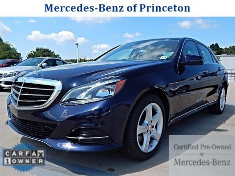 Certified pre owned 2014 mercedes benz e class e350 luxury for Mercedes benz princeton